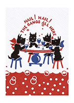 Scottie Dogs' Party (Celebration Greeting Cards)