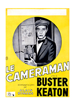 Buster Keaton: The Camerman (Retro Movie Posters Performing Arts Art Prints)