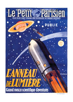 Le Petit Parisien: Rocketship (Weird & Wonderful Art Prints)