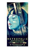 Metropolis (Retro Movie Posters Performing Arts Art Prints)