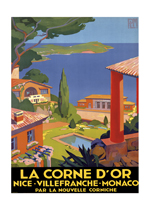 La Corne d'Or (European Glamor Travel Art Prints)
