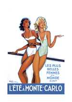 Les Plus Belles Femmes Du Monde (European Glamor Travel Greeting Cards)