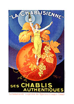 La Chablisienne (Wine and Spirits Greeting Cards)
