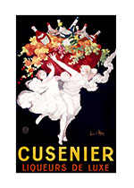 Cusenier Liqueurs de Luxe (Wine and Spirits Greeting Cards)