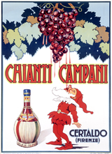 Chianti Campani (Wine and Spirits Art Prints)