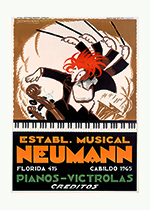 Neumann Pianos (Classical Music Performing Arts Greeting Cards)