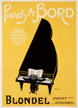 A. Bord Pianos (Classical Music Performing Arts Greeting Cards)