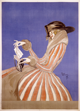 Woman Reading Letter Fashion Ilustration Art Print (1920s Fashion Fashion Art Prints)