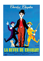 Charlie Chaplin: The Chaplin Revue (Retro Movie Posters Performing Arts Art Prints)