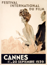 Cannes 1939 (Retro Movie Posters Performing Arts Greeting Cards)