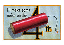 I'll Make Some Noise on the 4th (Classic 4th of July Greeting Cards)