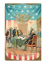 Signing the Declaration of Independence (Classic 4th of July Greeting Cards)