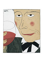 Prepare Yourself Mentally (Wine and Spirits Greeting Cards)