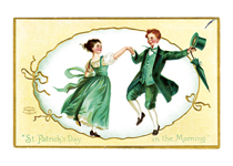 An Irish Jig (St. Patrick's Day Greeting Cards)