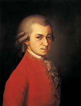 Mozart (Classical Music Performing Arts Art Prints)