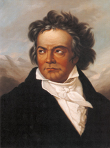 Beethoven (Classical Music Performing Arts Art Prints)