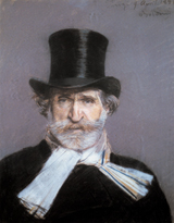 Giuseppe Verdi (Classical Music Performing Arts Greeting Cards)