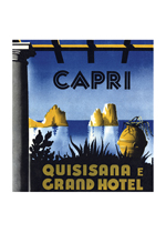 Quisisana Capri (European Glamor Travel Greeting Cards)