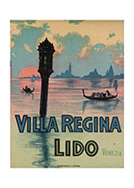Villa Regina Lido (European Glamor Travel Art Prints)