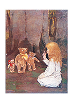 Telling the Teddy Bears Stories (Jessie Willcox Smith Greeting Cards)