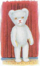 White Teddy Bear (Teddy Bears Art Prints)