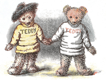 Teddy Bear Friends (Teddy Bears Art Prints)