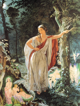 A Midsummer Night's Dream - Hermia and the Fairies