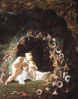 A Midsummer Night's Dream - Titania Asleep (Shakespeare Performing Arts Art Prints)