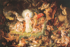 A Midsummer Night's Dream - Oberon and Titania (Shakespeare Performing Arts Art Prints)