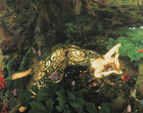 A Midsummer Night's Dream - Titania Sleeps (Shakespeare Performing Arts Art Prints)