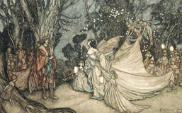 A Midsummer Night's Dream - Titania and Oberon (Shakespeare Performing Arts Art Prints)