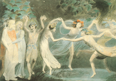 A Midsummer Night's Dream - Fairies Dancing (Shakespeare Performing Arts Greeting Cards)