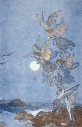 The Tempest - Fairies (Shakespeare Performing Arts Art Prints)
