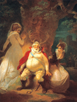 The Merry Wives of Windsor - Falstaff (Shakespeare Performing Arts Art Prints)