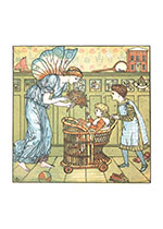 A Fairy Visits the Nursery (Children & Fairies Art Prints)
