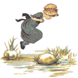 Little Jumping Joan (Nursery Rhymes Greeting Cards)