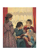 Little Women (Books and Readers Art Prints)