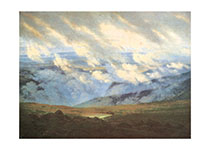 A Cloud-Filled Valley (Nature's Beauty Art Prints)