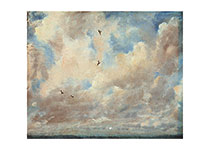 A Cloud Filled Sky (Nature's Beauty Art Prints)