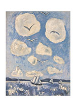 A Sailboat and Clouds (Nature's Beauty Greeting Cards)