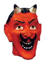 Devil Mask (Halloween Greeting Cards)