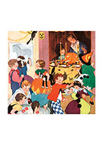 Children's Halloween Party (Classic Halloween Art Prints)