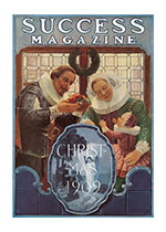 SUCCESS Christmas Cover (Magazine Covers Christmas Greeting Cards)