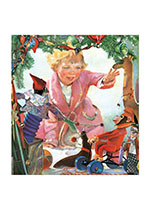 Christmas Toys (Children Enjoying Christmas Art Prints)