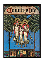 COUNTRY LIFE Christmas Angels (Magazine Covers Christmas Greeting Cards)