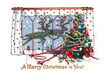 A Christmas Window (Many More Christmas Greeting Cards)