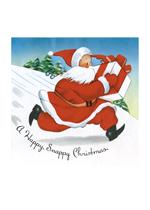 A Snappy Santa (Santa Claus Christmas Greeting Cards)