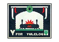 Y is for Yule Log