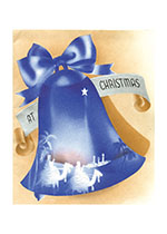 Christmas Bell (Many More Christmas Greeting Cards)