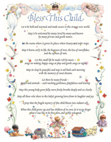 Baby Blessing (Baby Art Prints)